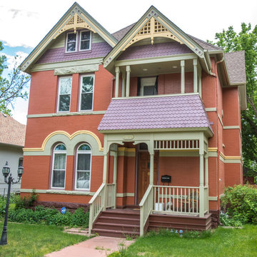 Victorian 2-Story Front Porch Addition (Restoration) in Denver Historic District