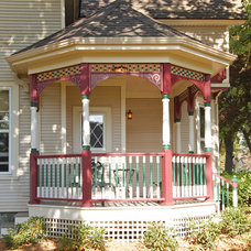Traditional Porch by Wallner Builders