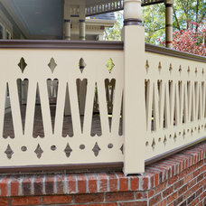 Traditional Porch by Kustom Home Design