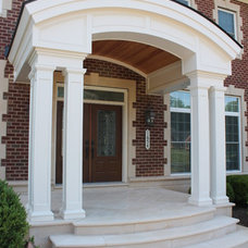 Traditional Porch by Synergy Design & Construction