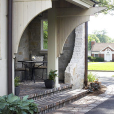 Traditional Porch by Culligan Abraham Architecture