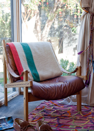 Eclectic Porch Vintage chair