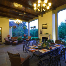 Traditional Porch by Studer Residential Designs