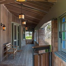 Beach Style Porch by Sandvold Blanda Architecture + Interiors LLC