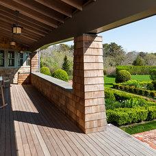 Beach Style Porch by Sandvold Blanda Architecture + Interiors LLC