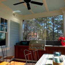 Beach Style Porch by DLB Custom Home Design