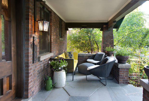 Eclectic Porch By Atelier Interior Design