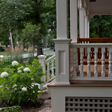 Traditional Porch by Matthew Cunningham Landscape Design LLC