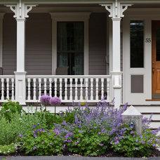 Traditional Porch by Matthew Cunningham Landscape Design LLC