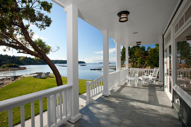 Traditional Porch by jodi foster design + planning