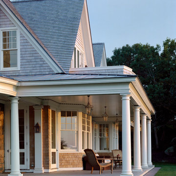 Waterfront Shingle Style Home