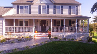 Welcoming Front Porch in Bear  Delaware