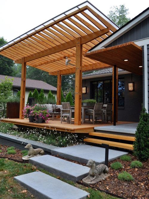 Premium Veranda Design Ideas, Renovations & Photos with with a ...