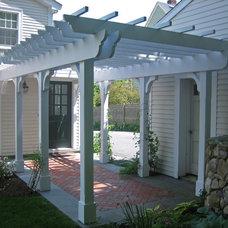 Traditional Porch by Leonard Design Associates
