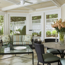 Traditional Porch by J.M. Construction, Inc