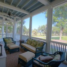 Traditional Porch by WaterMark Coastal Homes, LLC