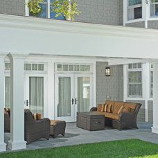 Traditional Porch by KellyBaron