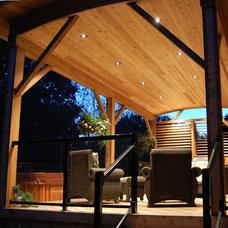 Traditional Porch by Earthscape - Landscape Design & Build