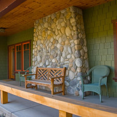 Craftsman Porch by Odenwald Construction Company