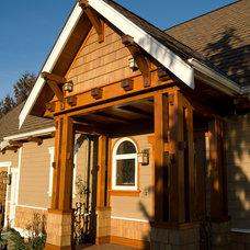 Craftsman Porch by Bellingham Bay Builders