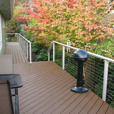 Traditional Porch by Stainless Cable & Railing, Inc.