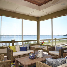 Beach Style Porch by Francesca Owings Interior Design