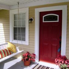 Eclectic Porch by Hibbler-Properties