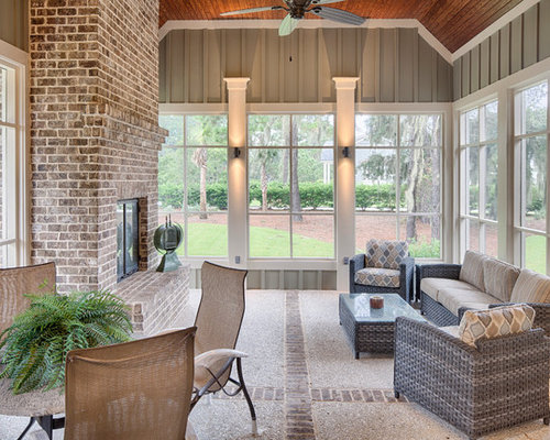 Stamped Concrete Screened Porches : Best screened in porch with stamped concrete ideas