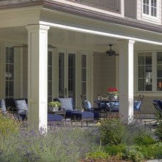 Traditional Porch by SDG Architecture, Inc.