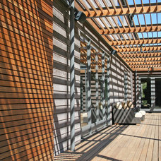 Modern Deck by Lorin Hill, Architect