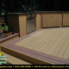 """Traditional Porch by Deck and Patio Company """"Outdoor Living Experts"""""""