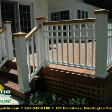"Traditional Porch by Deck and Patio Company ""Outdoor Living Experts"""