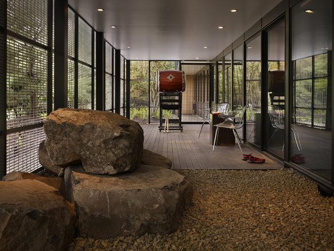 Modern Porch by chadbourne + doss architects