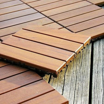 Wood Deck Tiles by Design For Less