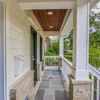 Historic Whole House Renovation Screened Porch