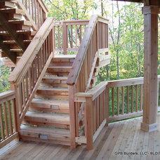 Traditional Porch by GETITFIXD.COM