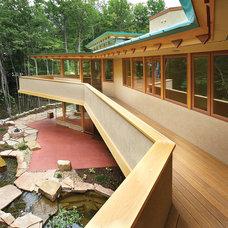 Contemporary Porch by Kolbe Windows & Doors