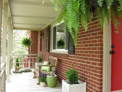 Contemporary Porch by Young House Love