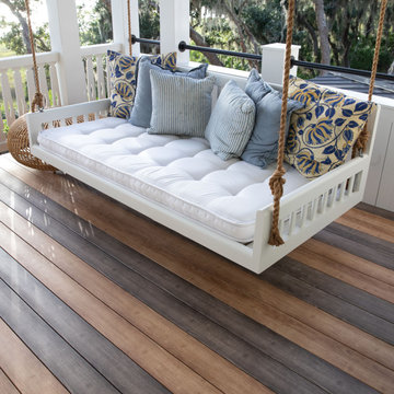 Zuri Decking® in Weathered Gray and Chestnut