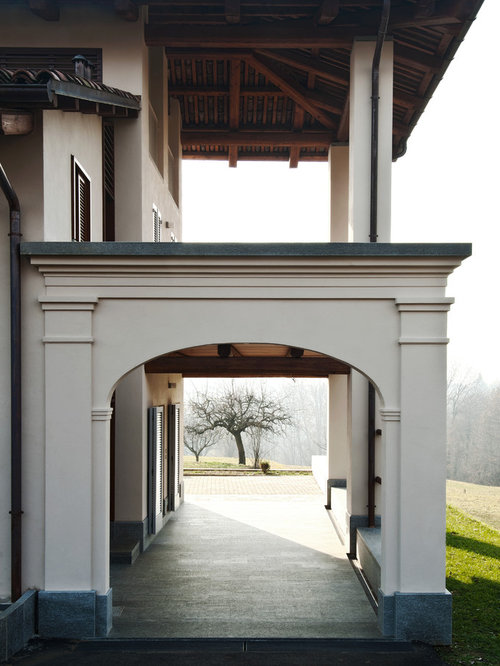 Foto e idee per patii e portici patio o portico classico for Idee di portico contadini
