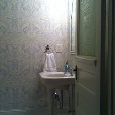 Traditional Powder Room by Hopkins Designs