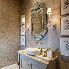 Traditional Powder Room by Rice Residential Design