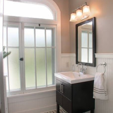 Traditional Powder Room by The Clark Group Realtors