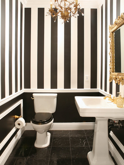 Best Black White Striped Wallpaper Design Ideas amp Remodel