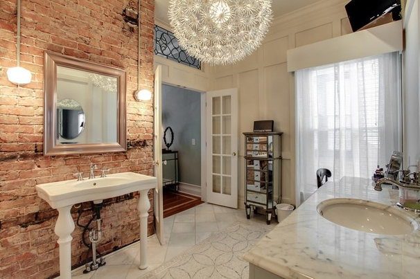Traditional Powder Room by Terri Sears, Kitchen and Bath Designer