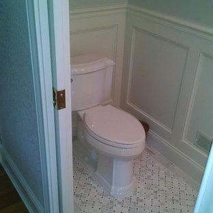 Exemple d'un WC et toilettes nature.