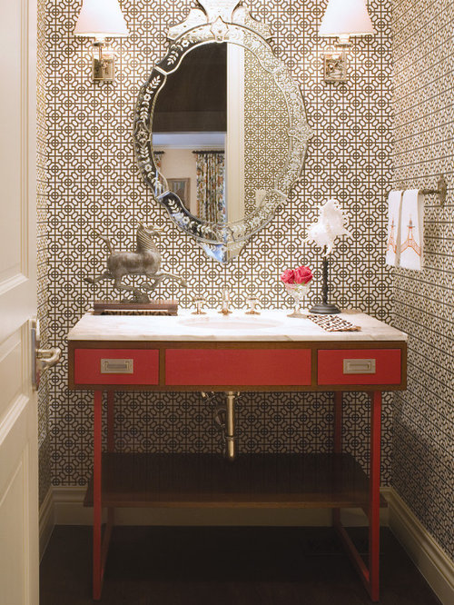 Powder Room Wallpaper Ideas Pictures Remodel And Decor
