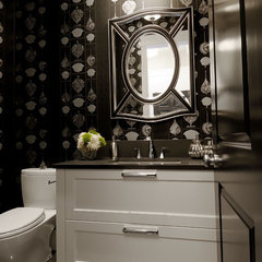 powder room by Atmosphere Interior Design Inc.
