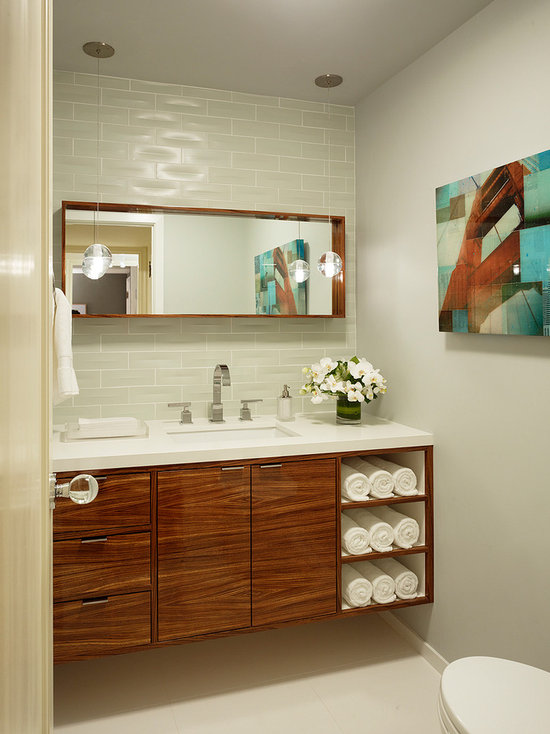 floating bathroom cabinet | houzz