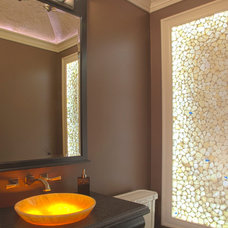 Traditional Powder Room by Hutchinson Home Builders